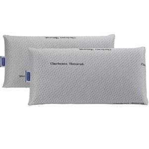Almohada viscoelástica de carbono natural
